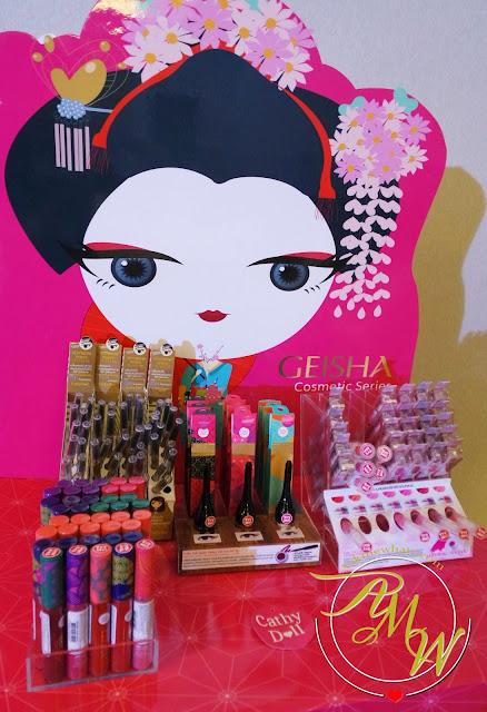 a photo of Cathy Doll Geisha Hanazakarai Lip Matte