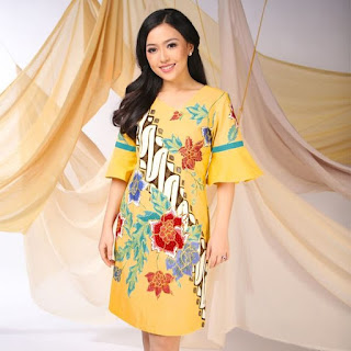model baju batik yang bagus untuk orang gemuk