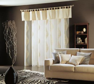 Design interior case apartamente-Perdele draperii living dormitor - BUCURESTI