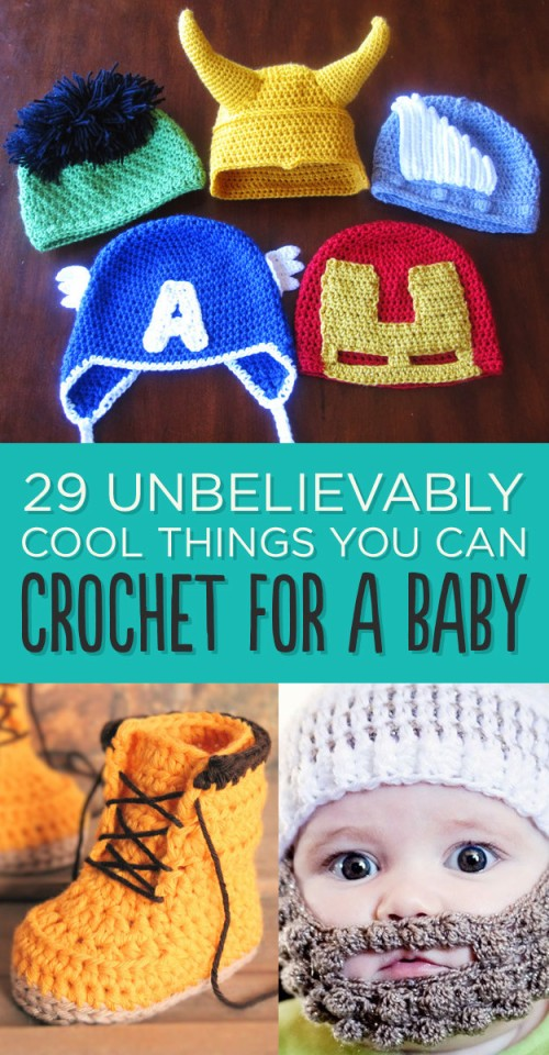 Unbelievably Cool Things You Can Crochet For A Baby