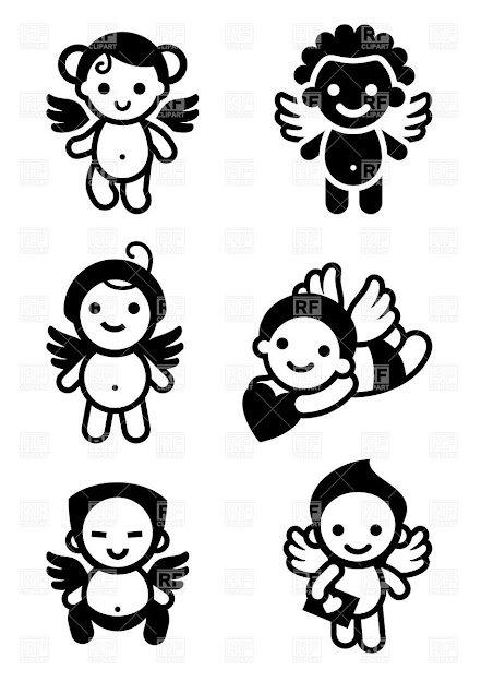 Cute Cupids And Angels Click To Zoom