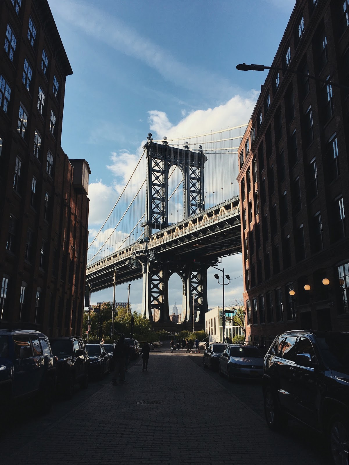 New York travel diary Brooklyn Bridge Dumbo