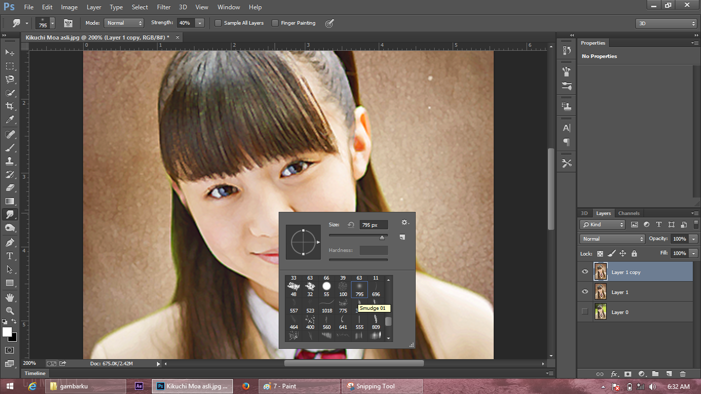 Tutorial Smudge Painting Di Photoshop
