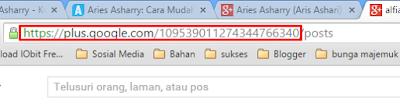 kode id Google+ angka