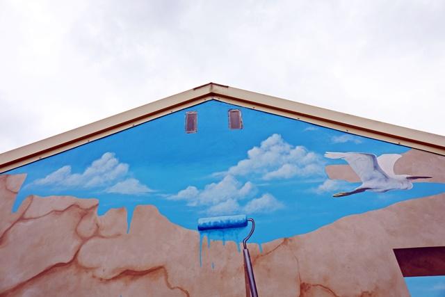 頭城老街~宜蘭景點、童趣3D彩繪牆、小白宮、李榮春文學館