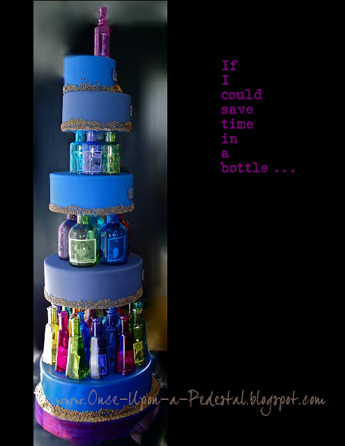 dragees-cake-lighted-bottle-tier-seperators-time-in-a-bottle-kimmel-deborah-stauch