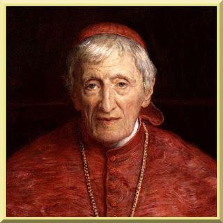 Blessed John Cardinal Henry Newman by Sir John Everett Millais- PD-1923