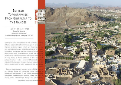 "Terrachidia invitada al ""Simposium Settled Topographies: from Gibraltar to the Ganges"""