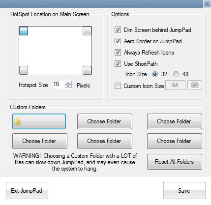 Jumbpad option