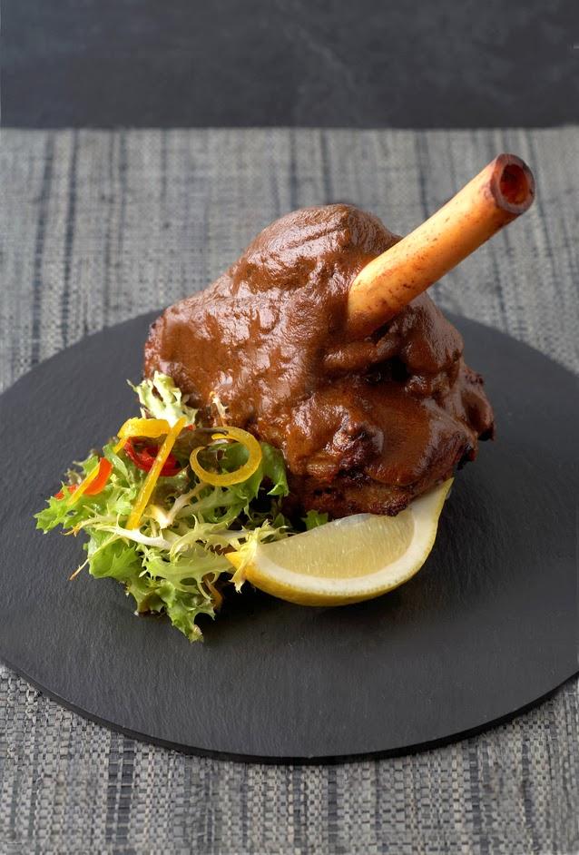 Scrumpdillyicious Hyderabadi Lamb Shanks Chef Alfred Prasad