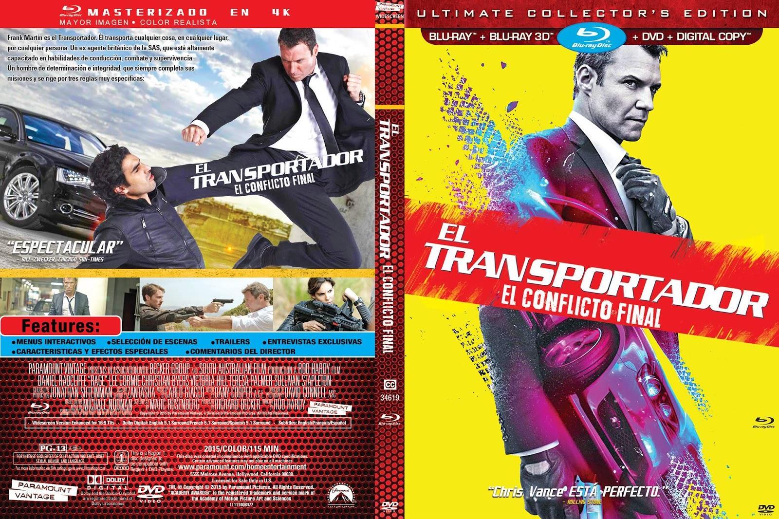 el transportador el conflicto final dvd archivos  💲🥇
