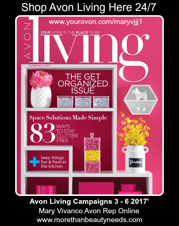 Shop Avon Living. The Get Organized Issue >>>