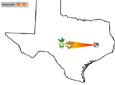 Secret Power Texas Capture the Confederate Flag Stoutland Rapidash Ponyta horses