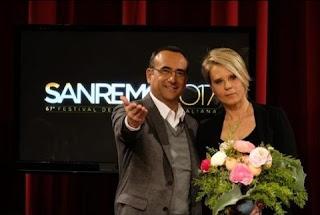 Maria De Filippi presented the 2017 Sanremo Music Festival along another popular TV host, Carlo Conti