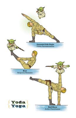 Star Wars Yoda Yoga