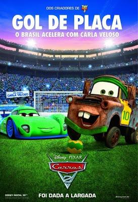 Affiche internationale du film Cars 2