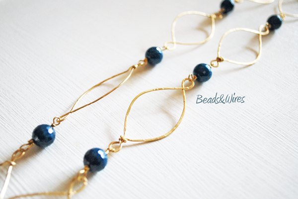 collana hammered wire