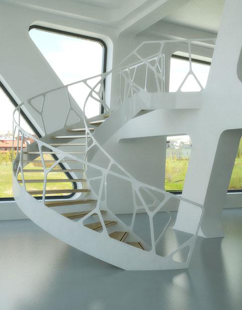 Escaleras De Caracol Modernas Eestairs Bonitadecoracioncom - Escaleras-de-caracol-modernas