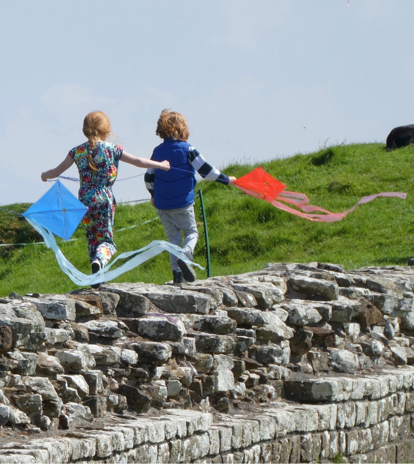 Hadrian's Wall Kite Festival 2016 - Birdoswald Roman Fort