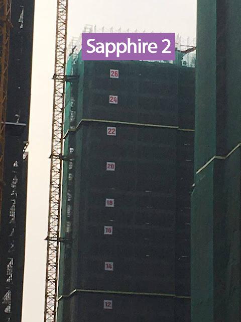 Tiến độ thi công Sapphire 2 Goldmark City