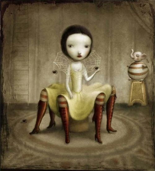 17-Nicoletta-Ceccoli-Surreal-Fairy-Tales-NOT-for-Children-www-designstack-co