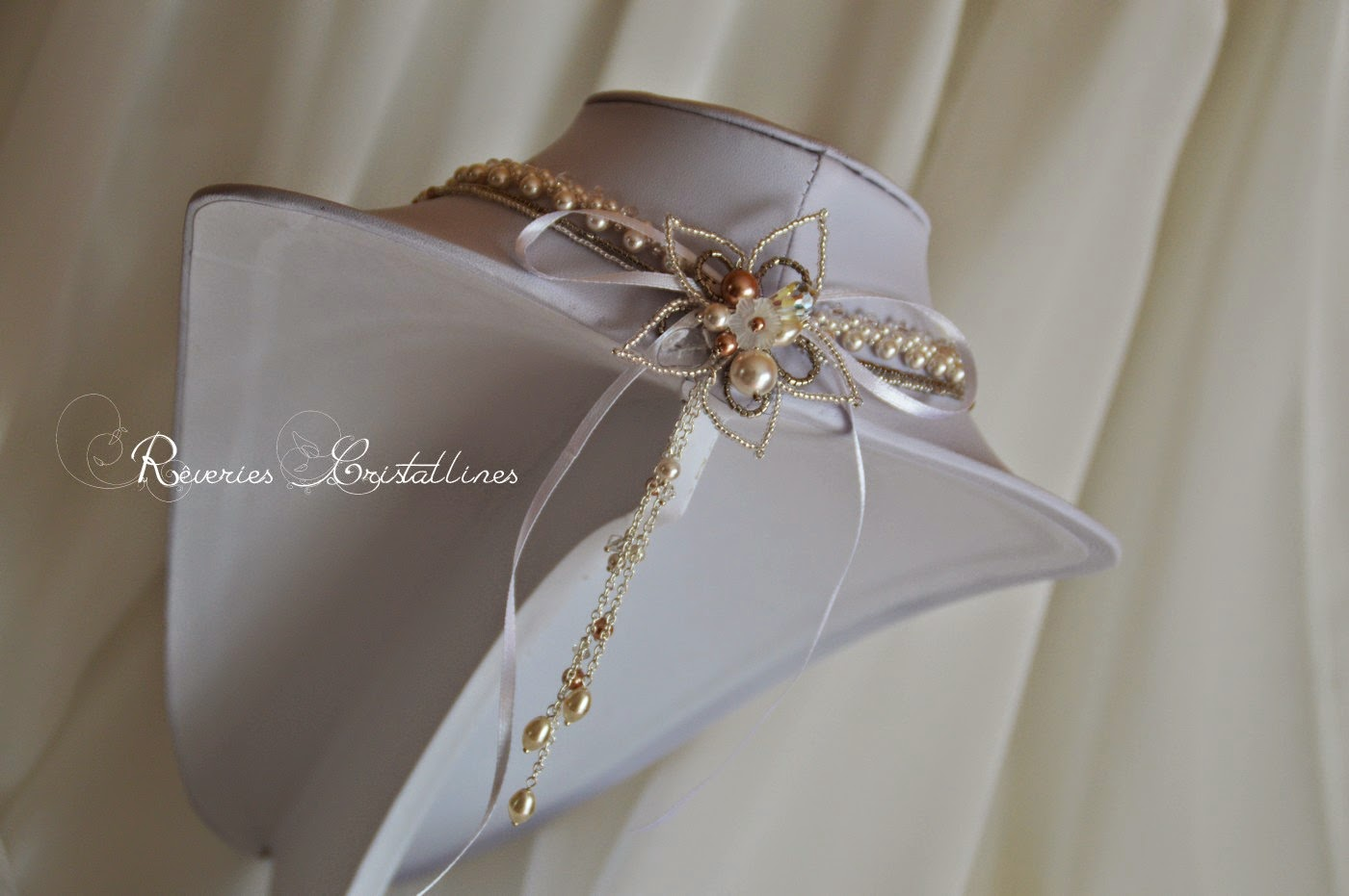 bijou mariage romantique