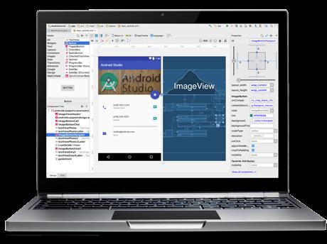 شرح برنامج android studio للمبتدئين