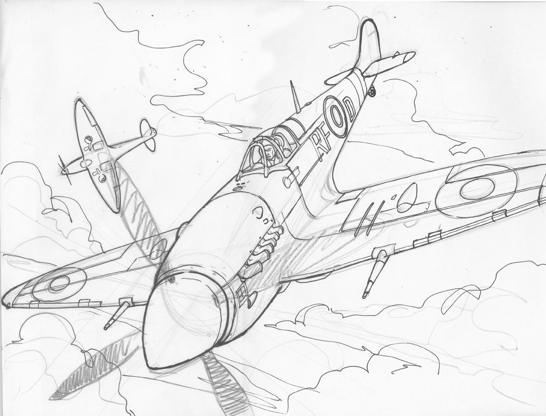 Dylan Gibson Illustration Tally Ho