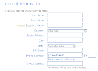 Create Wordpress Website with Bluehost - Bluehost Account Information