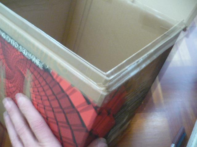 Como reciclar una caja de vino de carton.