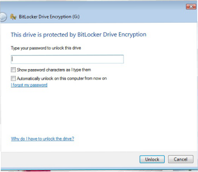 flashdisk password BitLocker