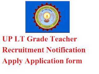 UP LT Grade Teacher Recruitment 2017