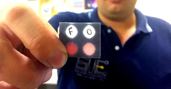 Teste rápido de uísque falsificado da UFG