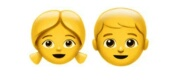 Girl/Boy emoji Hindi Meaning