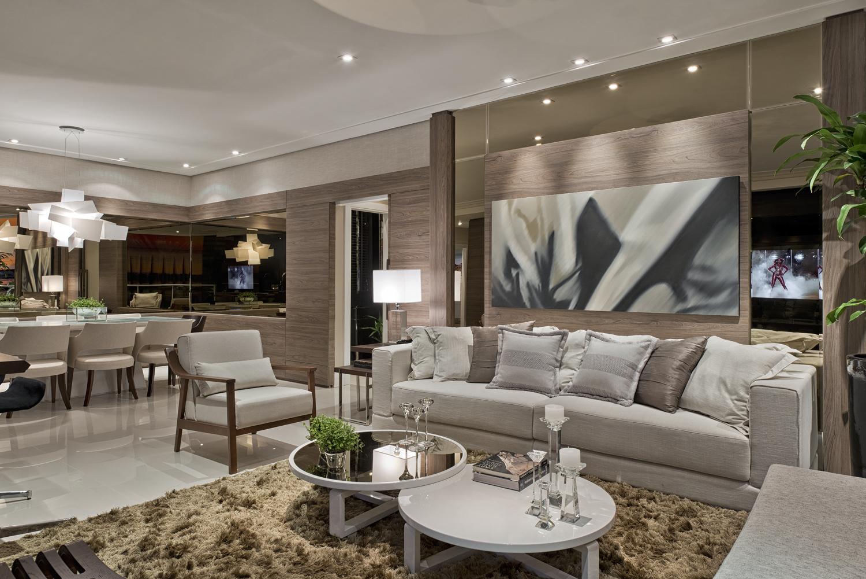 Construindo minha casa clean consultoria de decora o Mesas para salas modernas