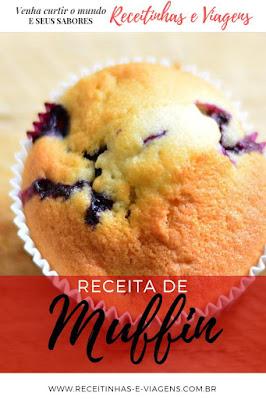 Receita de muffin