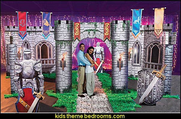 Fantasy Knights Kit Medieval Party Supplies  Knights of Camelot Standees