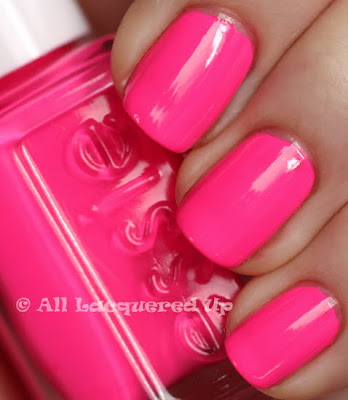 can t wait to paint my nails this gorgeous Hot Pink shade by EssieNeon Pink Nail Polish Essie