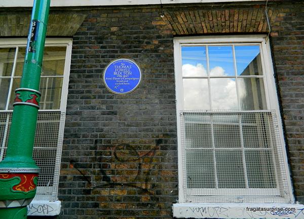 Londres - fachada no bairro de Brick Lane