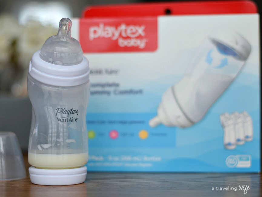how to give bottle to breastfed baby