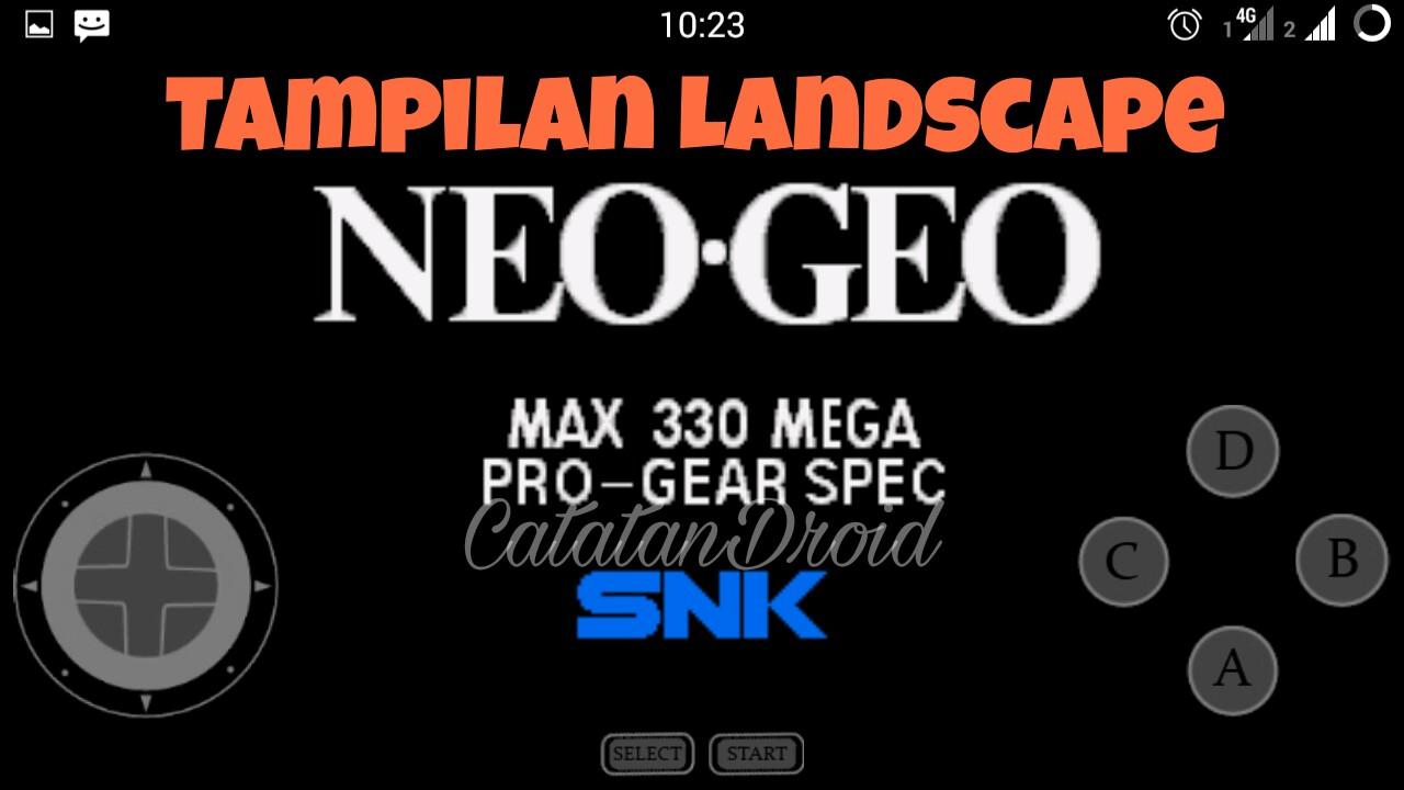 Cara Mudah Bermain Game Ding-Dong (NeoGeo) di Android ...