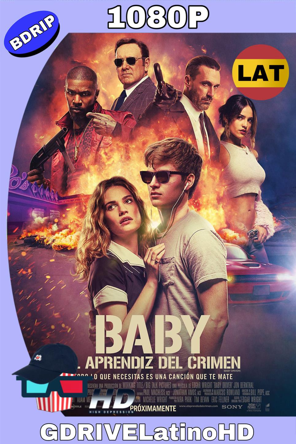 Baby El Aprendiz Del Crimen (2017) BDRIP 1080p (60 FPS) Latino Inglés MKV