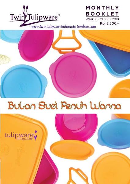 Booklet - Katalog Twin Tulipware Mei 2018 Ramadhan