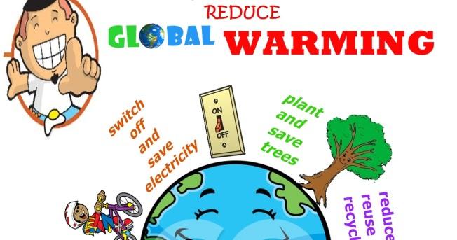 15+ Contoh Poster Pemanasan Global Yang Mudah Digambar