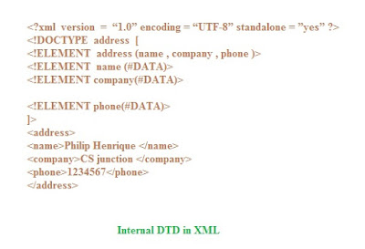 xml dtd example pdf