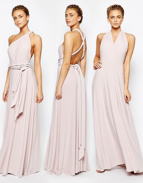 coast multiway dress, corwin multiway dress, pastel multiway dress, multiway bridesmaid dress,