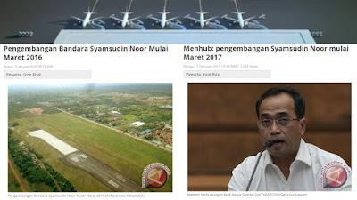 Pengembangan Bandara Syamsudin Noor Banjarbaru