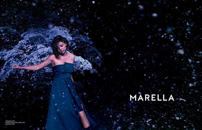 Miranda Kerr by Ryan McGinley for Marella Autumn/Winter 2016 Campaign