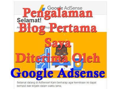 Pengalaman Blog Diterima Google Adsesne