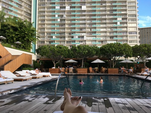 The Modern Honolulu pool